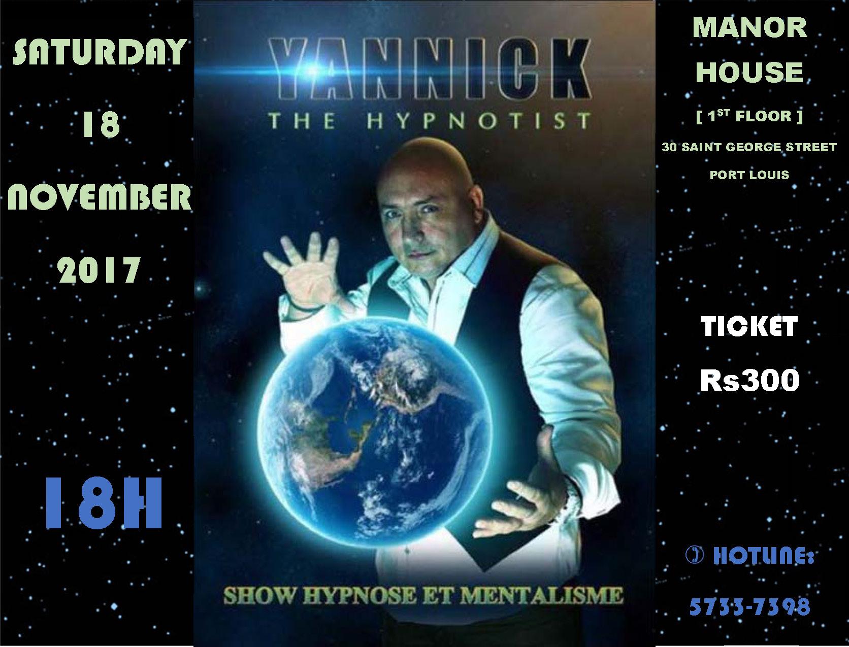 EVENT YANNICK – 18.11.2017