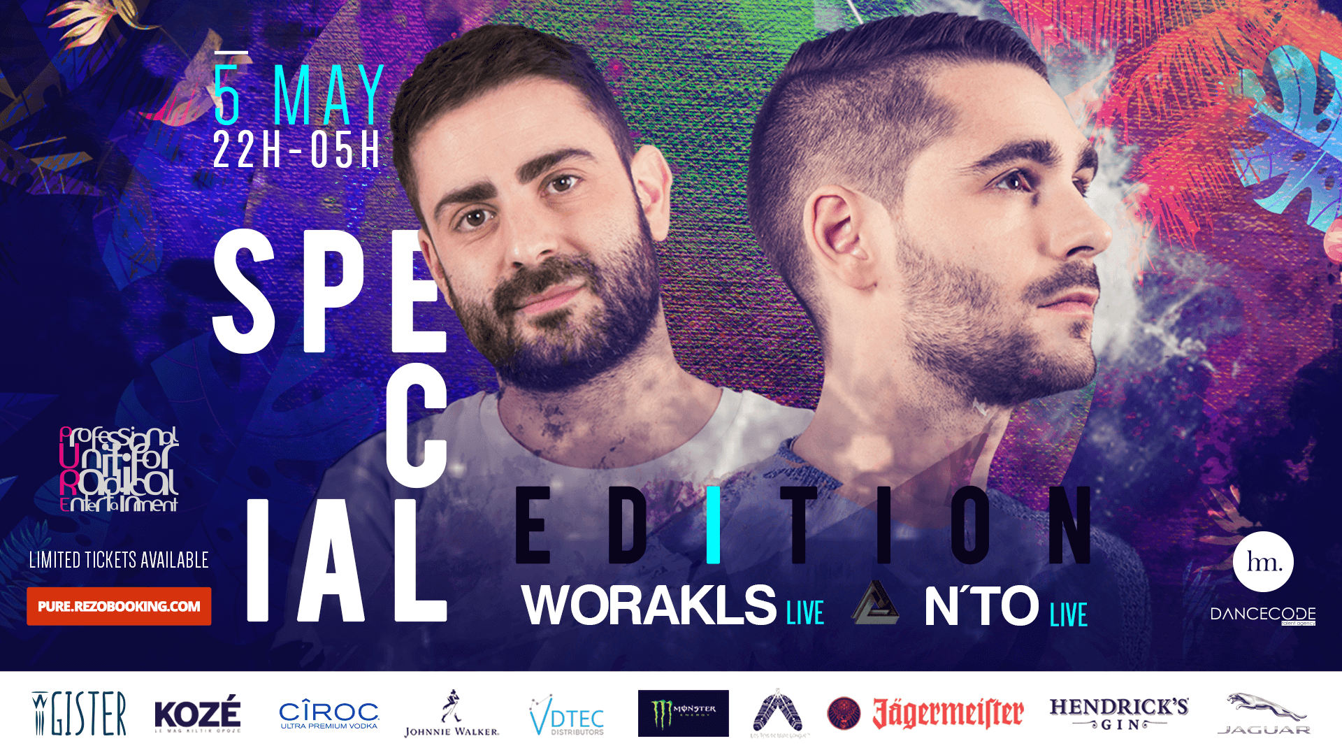 PURE SPECIAL EDITION - Worakls & Nto - Table Reservation