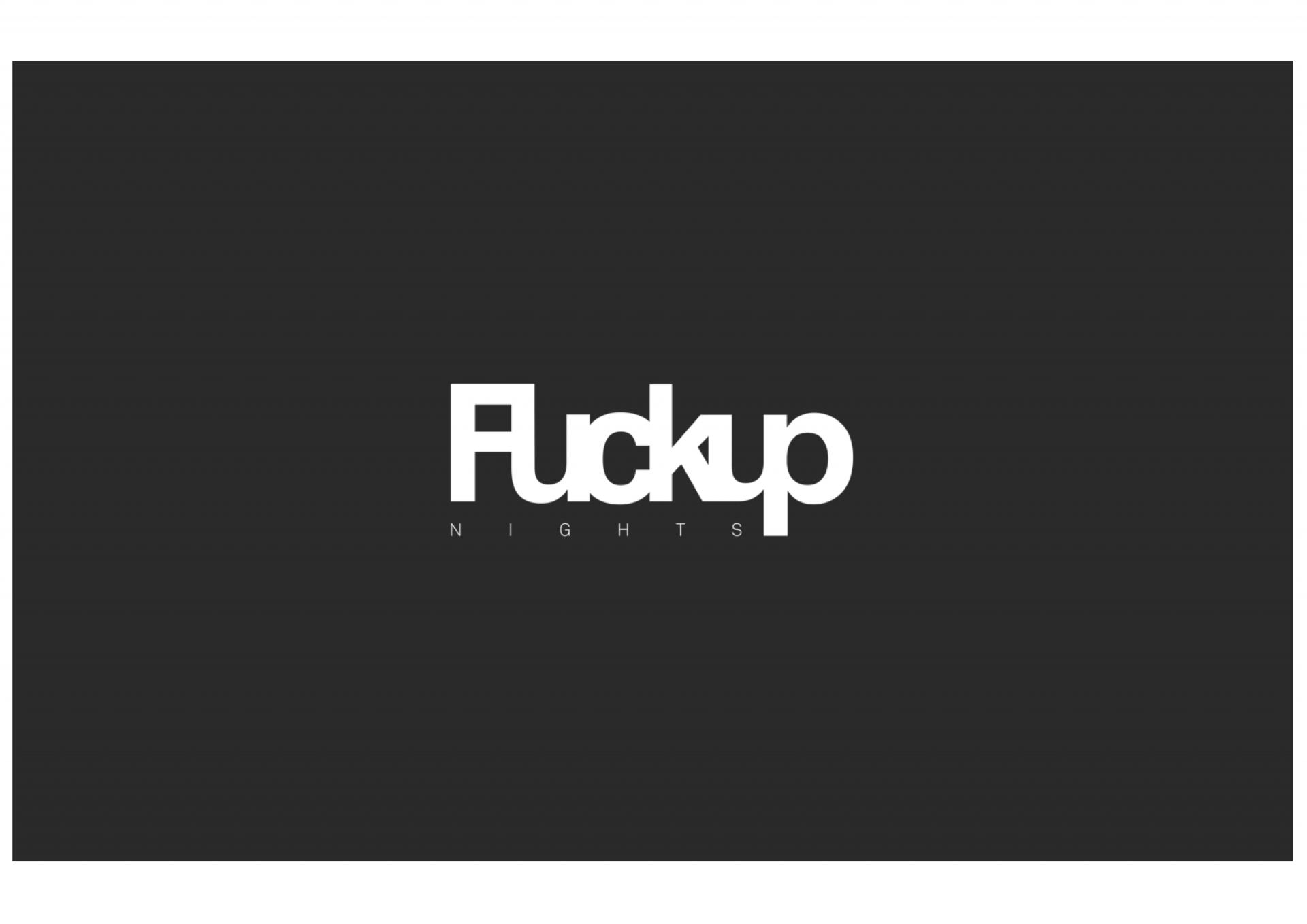 FuckupNights MU Logo